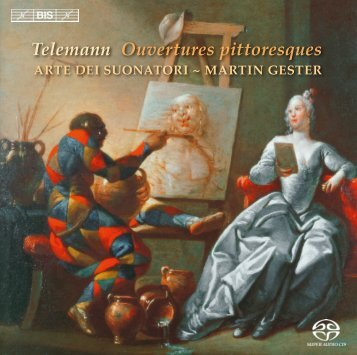 Telemann Ouvertures pittoresques - eClassical