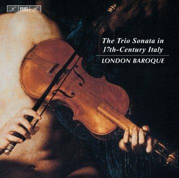 The Trio Sonata in 17th-Century Italy - eClassical