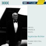 Svjatoslav richter - eClassical
