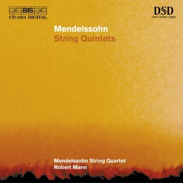 Felix Mendelssohn Bartholdy - eClassical