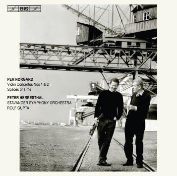 PER NØRGÅRD Violin Concertos Nos 1 & 2 Spaces of ... - eClassical
