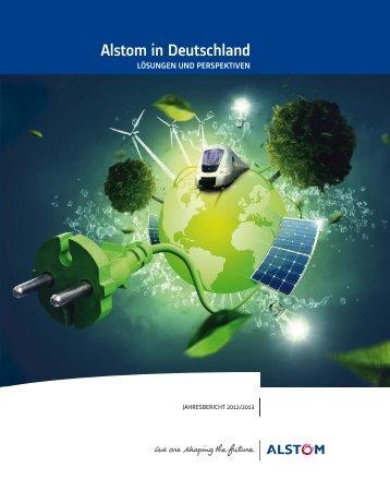 Alstom in Deutschland: Jahresbericht 2012/2013 - Econsense