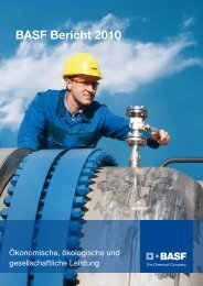BASF Bericht 2010 - Econsense