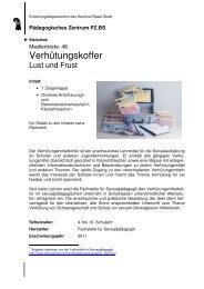 Medienkiste 46 - Verhütungskoffer - Erziehungsdepartement