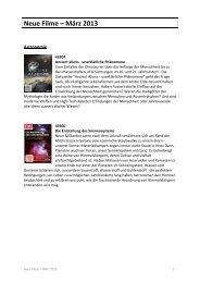 Neue Filme März 2013 — PDF document, 1554Kb