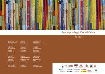 Mehrsprachige Kinderbücher 2012/2013 - Edition bi:libri