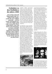 Gedanken zu den Titelbildern des Jahres 2000