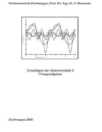 Ing. M . J. Hamouda Grundlagen der Elektrotechnik 2 ...