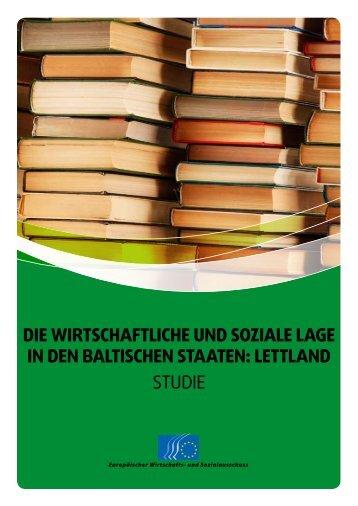 die wirtschaftliche und soziale lage in den baltischen staaten - Europa