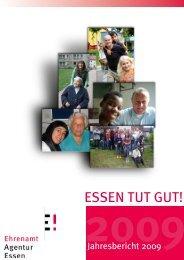 Jahresbericht 2009 - Ehrenamt Agentur Essen