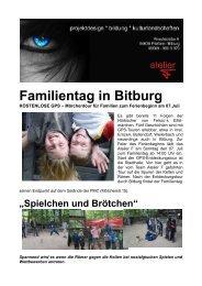 Familientag in Bitburg