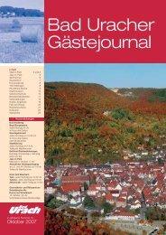 Oktober 2007 (PDF) - Bad Urach