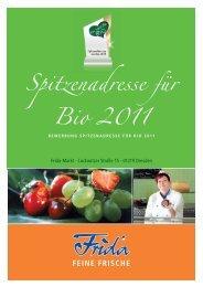 Spitzenadresse für Bio 2011 - Ein Herz für Bio