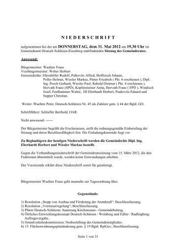 klicken - Gemeinde Deutsch Schützen Eisenberg