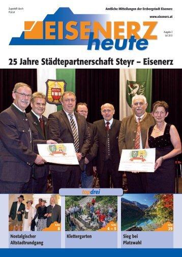 25 Jahre Städtepartnerschaft Steyr – Eisenerz