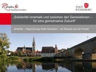 """""""Solidarität innerhalb und zwischen den Generationen – für eine ..."""