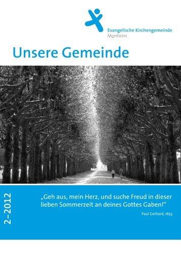 Ausgabe 2/2012 - ekmonheim