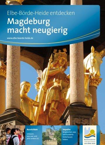 Magdeburg macht neugierig - Elberadweg
