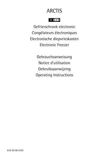ARCTIS - Electrolux