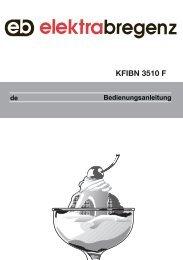 KFIBN 3510 F - Elektra Bregenz