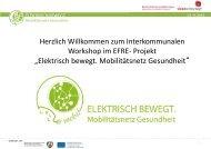Produktideen- und Visionen - ELEKTRISCH BEWEGT ...