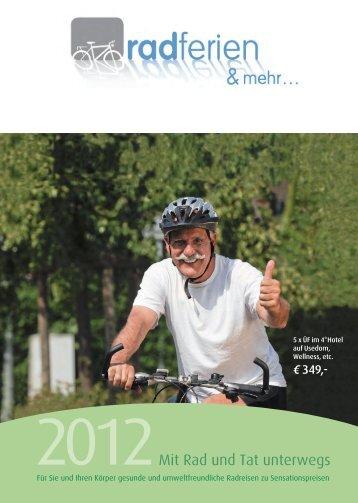 2012Mit Rad und Tat unterwegs - Donau Touristik