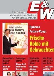 Österreichs Insiderblatt für die Elektrobranche 9A/September ... - E&W