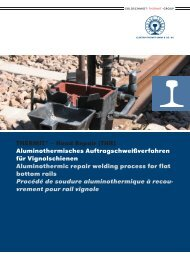 Produktbroschüre als PDF, 1.7 MB - Elektro Thermit GmbH & Co. KG