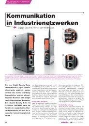 Kommunikation in Industrienetzwerken - elforum