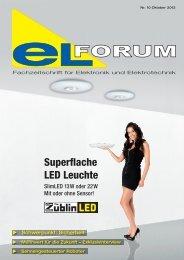 """Superflache LED Leuchte """"dreht"""" alles ie IV- ng - elforum"""