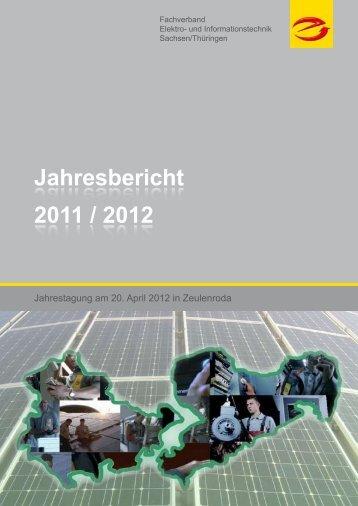 Jahresbericht 2011 / 2012 - eline GmbH
