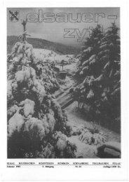 Februar 1985 Auflage 1400 Ex. - Elsauer Zytig