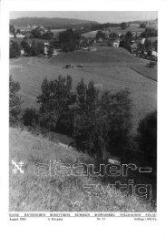 August 1986 6. Jahrgang Auflage 1400 Ex. - Elsauer Zytig
