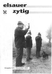 und ausserdern - Elsauer Zytig