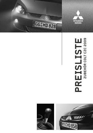 PREISLISTE - Autohaus W. Beyer Gmbh