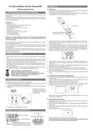 Pen Type pH-Meter mit Dual-Display 8681 - ELV