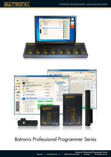 Batronix Professional Programmer Series - ELV
