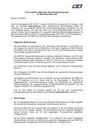 e-logistics Dokumente