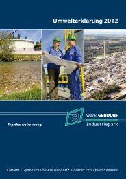 Umwelterklärung 2012 - EMAS