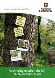 Nachhaltigkeitsbericht - EMAS