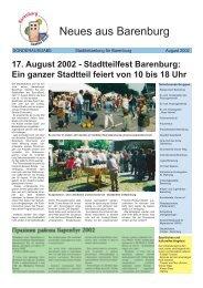 Sonderausgabe August 2002 - Stadt Emden