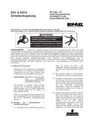 Form 22-001-German-Kop-Flex KD1 & KD10 Disc Coupling