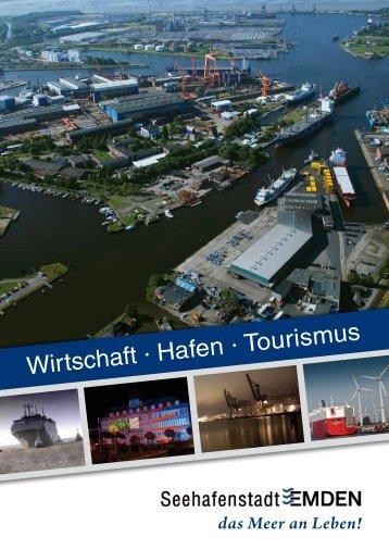 Standortbroschüre Stadt Emden 2013
