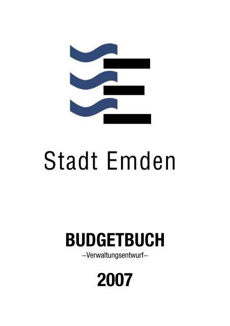 Microsoft Word - Deckblatt 1.doc - Stadt Emden