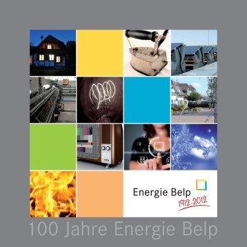 100 Jahre Energie Belp Broschüre