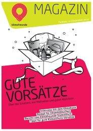 Klimafreunde Magazin zum Download - Bremer Energie-Konsens