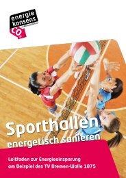 Leitfaden Sporthallen-Sanierung - Bremer Energie-Konsens