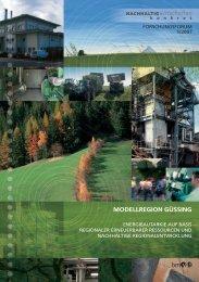 MODELLREGION GÜSSING - Energiesysteme der Zukunft