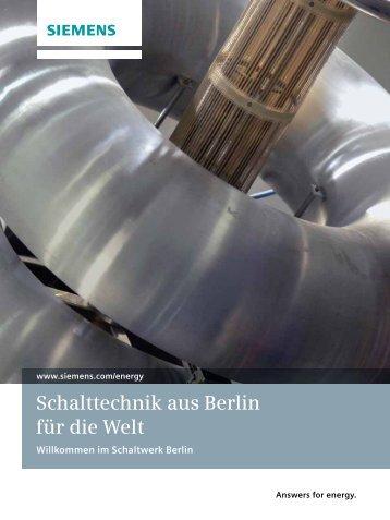 Schaltwerk Berlin - siemens