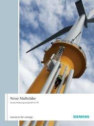 Neue Maßstäbe - Siemens Energy